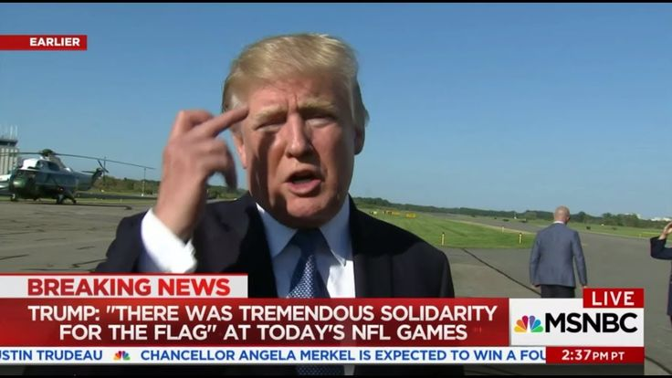 Pres. Trump Seems to Flip Robert Kraft the Bird After He Sides With NFL ...