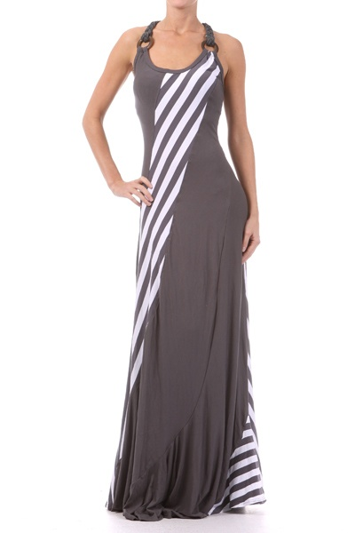 Love this: Long Dresses, Maxi Dresses Patterns, In Love, Style Inspiration, Tanks Dresses, New Fashion, Stripes Maxi, Maxi Tanks, Style Ideas