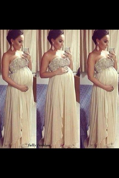 // can I be this glam when I'm pregnant?