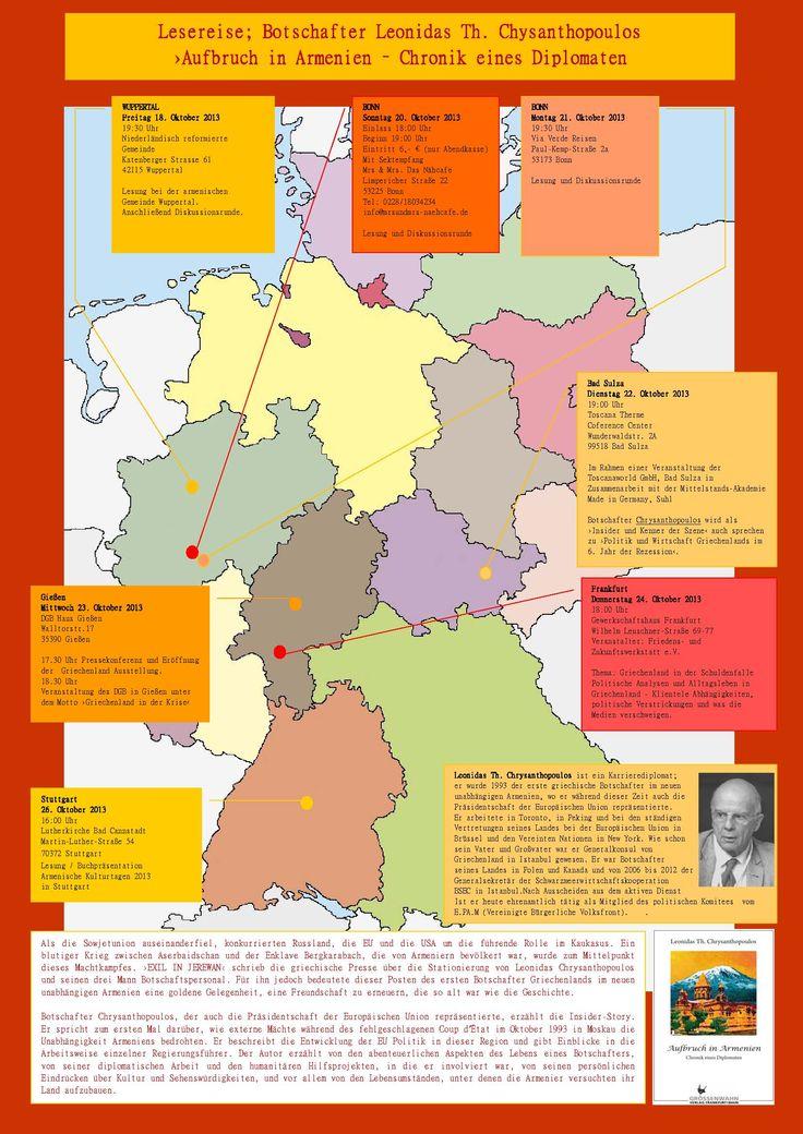 Lesereise im Oktober 2013: www.groessenwahn-verlag.de