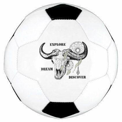 Explore Dream Discover Soccer Ball - custom gift ideas diy