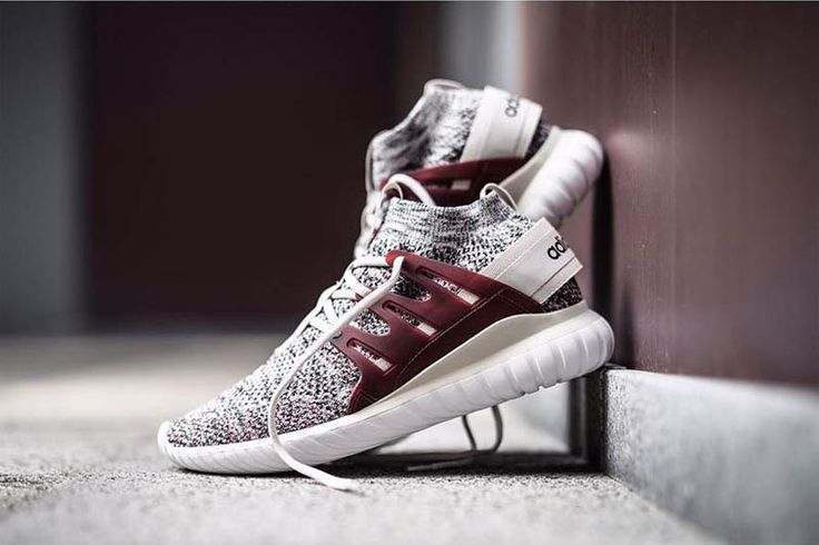 Maroon ADIDAS Tubular Nova PK See more street wear FILET. #filetlondon adidas shoes - http://amzn.to/2hreaYz