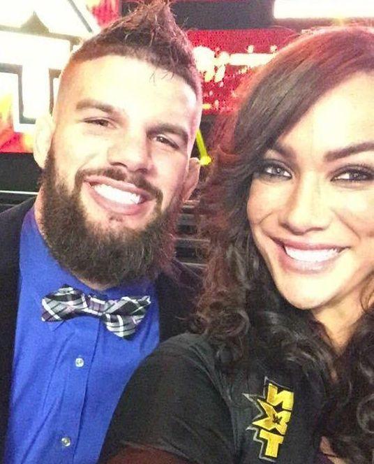 WWE Superstar Nia Jax (Savelina Fanene) and her boyfriend Evolve wrestler Josh Woods #WWE #TotalDivas #wwecouples #samoandynasty