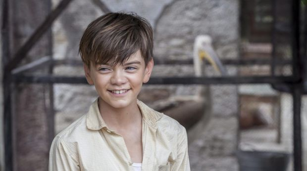 Milo Parker As Gerald Durrell In The Durrells Toddler