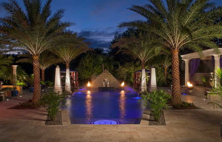 262 best images about egyptian revival architecture on for Pool design tampa florida
