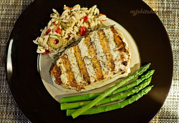 The BEST Grilled Halibut Recipe | @MJs Kitchen