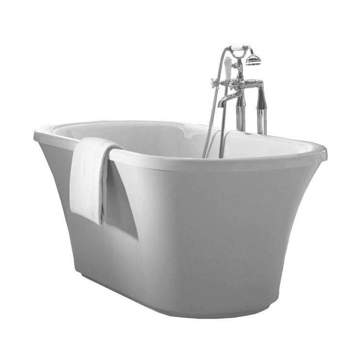 14 best images about free standing bathtubs on pinterest for Free standing soaking tub