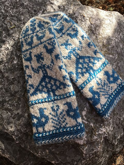 1751 best Knit mitts images on Pinterest   Knitting charts ...