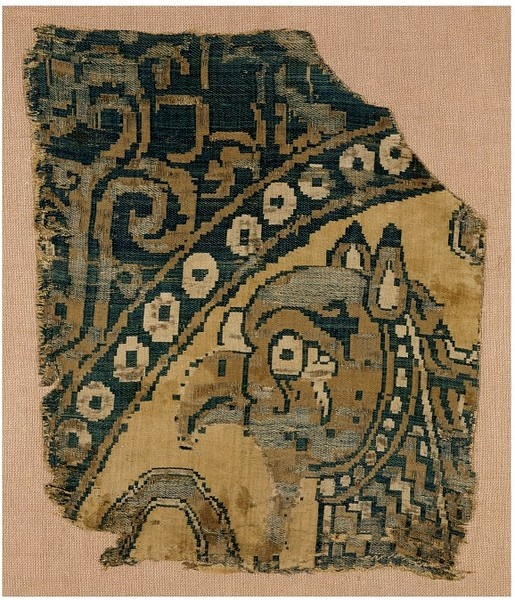 Woven silk      Place of origin:    Istanbul, Turkey (made)      Date:    900-1100 (made)  - V & A