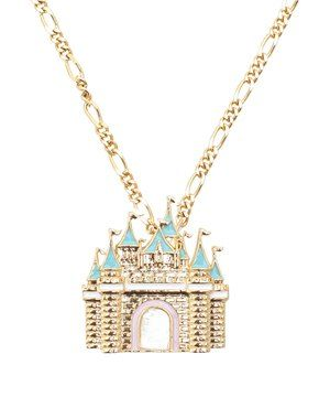 Disney Castle necklace.