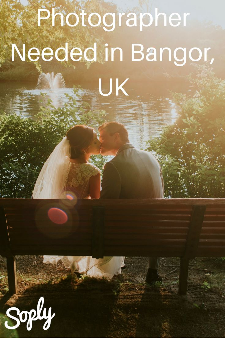 #Photographer needed for a #civil #ceremony in Bangor, UK. See the photography job and apply by clicking the pin!