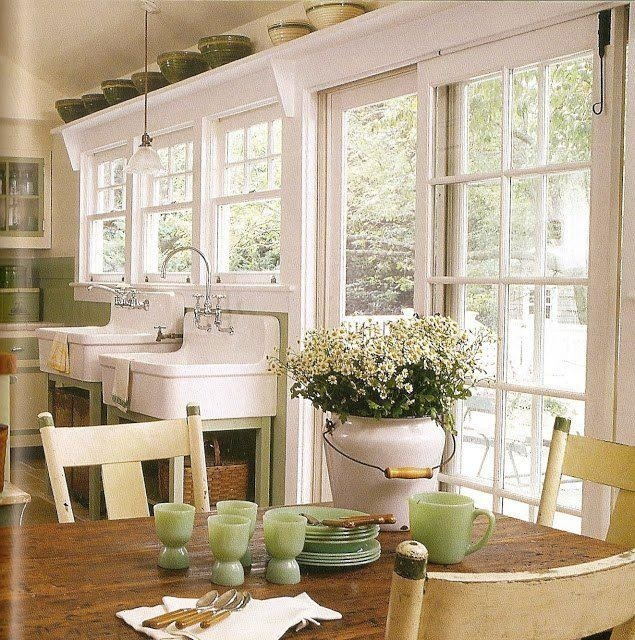 Kitchen Window With Ledge: Spring Hill House