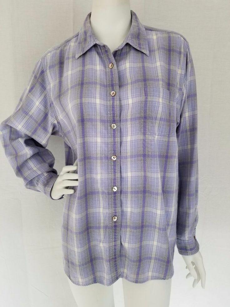 Vintage L L Bean Button-Down XL Blue and the Gold Cotton Shirt PERFECT ! Vv8rzL9Q