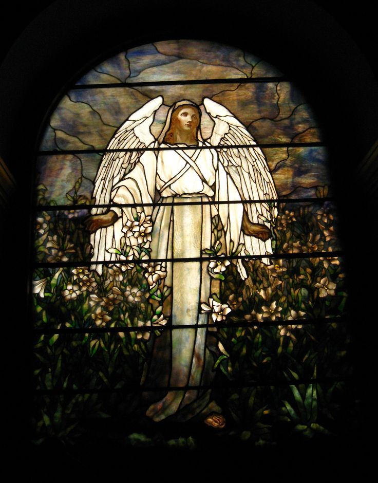 "Tiffany Studios | ""The Angel of the Resurrection"" window, 1902 