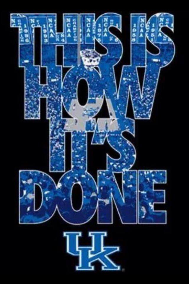 Kentucky Basketball This Is How Its Done UK Wallpaper