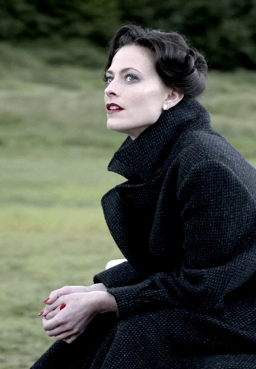 "Irene Adler played by Lara Pulver in Sherlock S02E01 ""A Scandal in Belgravia"" This woman is so beautiful, enthralling."