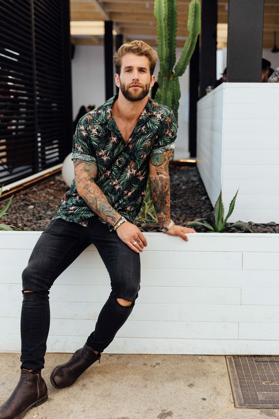 Looks Masculinos para Balada. Macho Moda - Blog de Moda Masculina  Roupa  Masculina para BALADA  28 Looks pra Inspirar 4a1fa376fa0