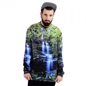 Bluza Oversize Hipster z nadrukiem WODOSPAD unisex