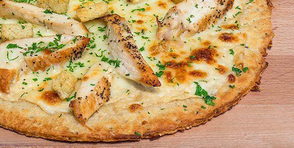 Morganne's Chicken Alfredo Pizza Recipe Image