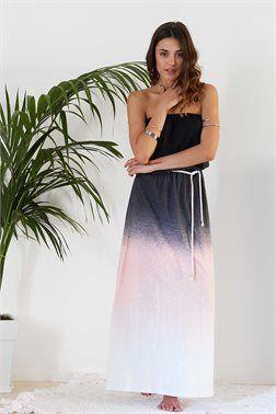 Strapless Tie Dye Φόρεμα - ΡΟΥΧΑ -> Φορέματα | Made of Grace
