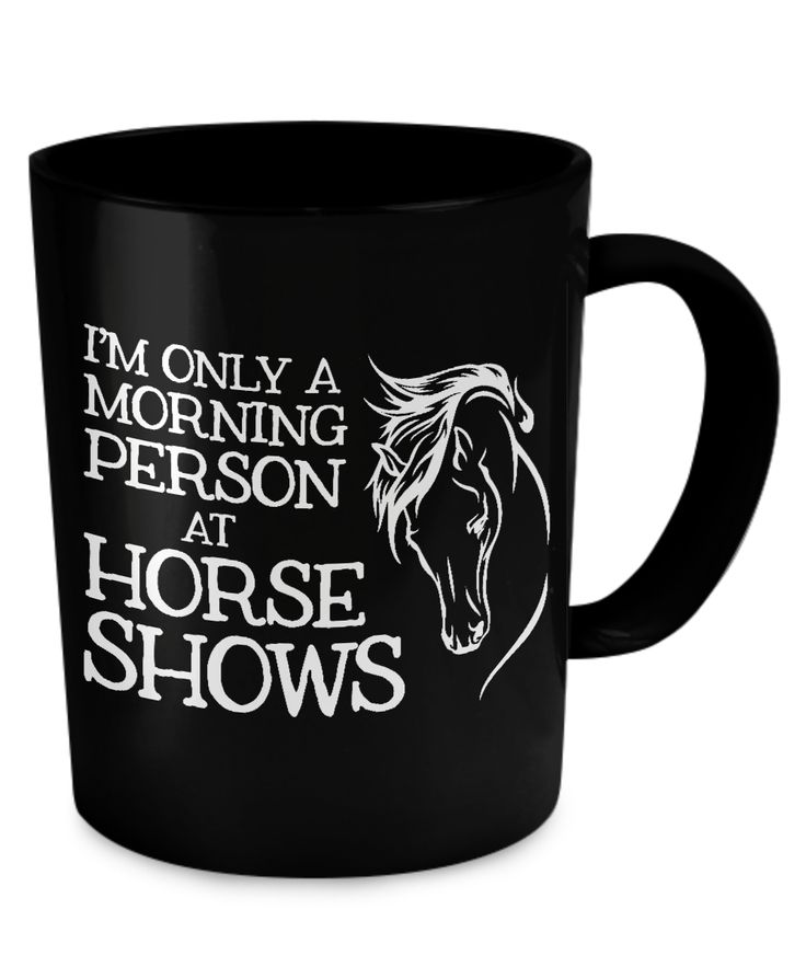 How many of ya equestrians can relate to this? #horse See it here: https://www.gearbubble.com/morning-person
