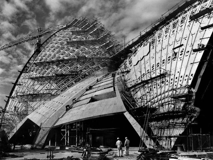 2-4-11-Sydney Opera House Construction-10 by Randy Dorman