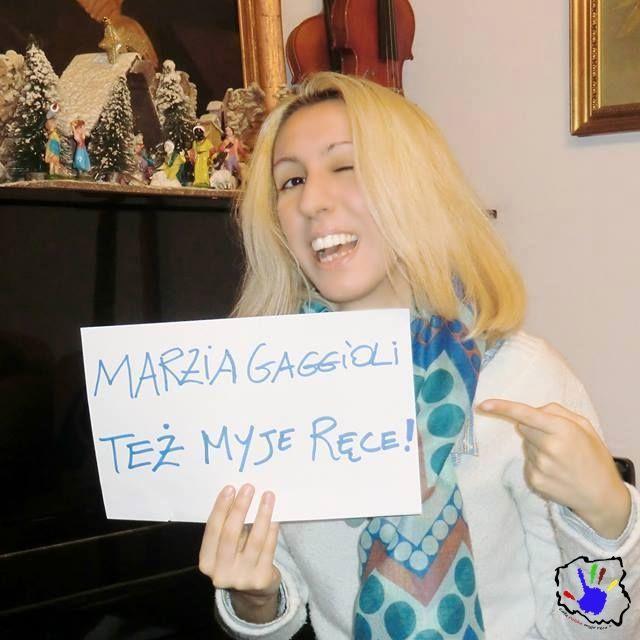 A kogo my tu mamy? :) Tak! To Marzia Gaggioli we własnej osobie! Wielkie dzięki! :)