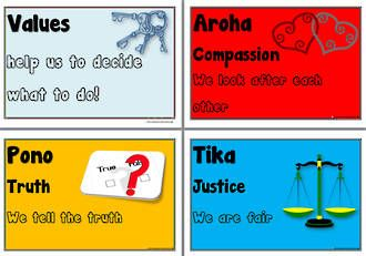 Maori   Values   See... LEARNING AREAS   LANGUAGES at ... www.abcteachingresources.com