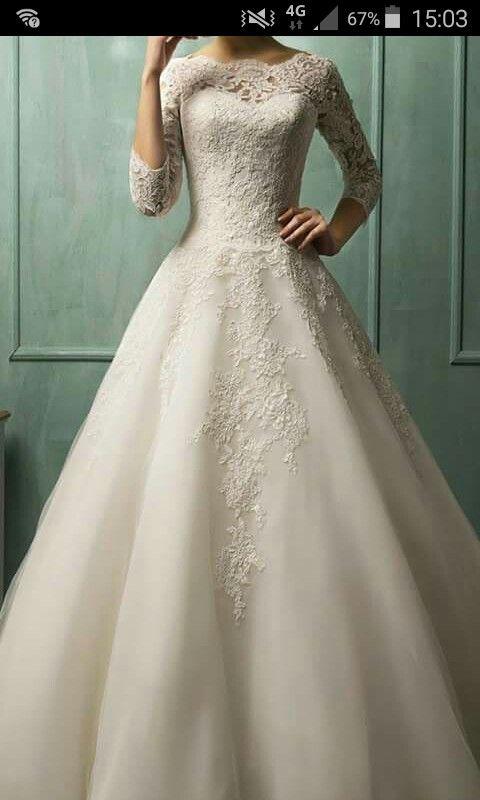 57 besten Brautkleider Bilder auf Pinterest | Hochzeitskleider ...