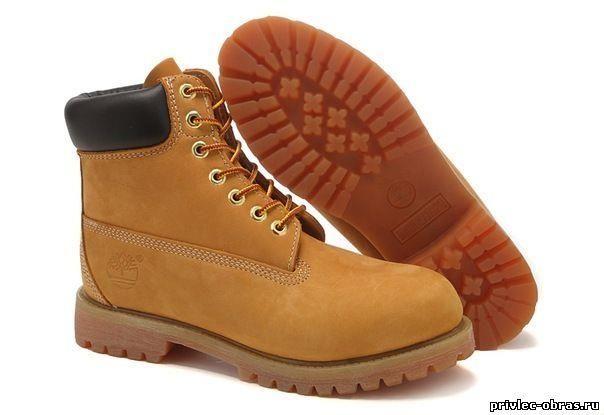 Женские коричневые ботинки зима