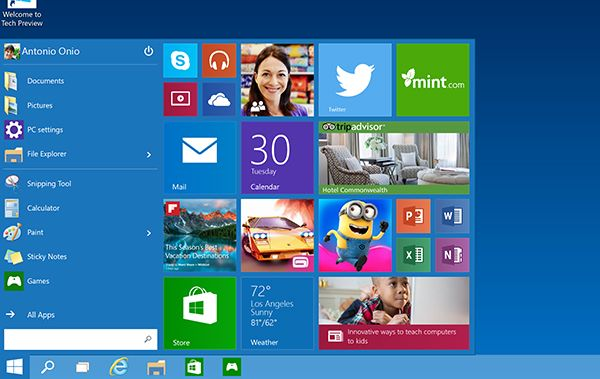 Free Download Windows 10 Collections House: Free Windows 10 Technical Preview
