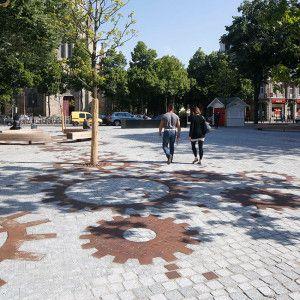 Place de la Paix by Mutabilis paysage & urbanisme