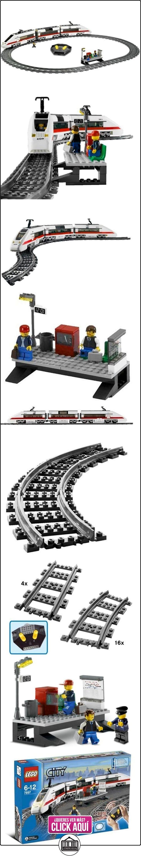 LEGO City 7897 - Tren de pasajeros  ✿ Lego - el surtido más amplio ✿ ▬► Ver oferta: http://comprar.io/goto/B000EU1I1Q