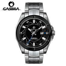 Fashion men's watch stainless steel solar energy man watch Casual innovative Pierced waterproof 100m Wrist watches CASIMA#9905(China (Mainland))