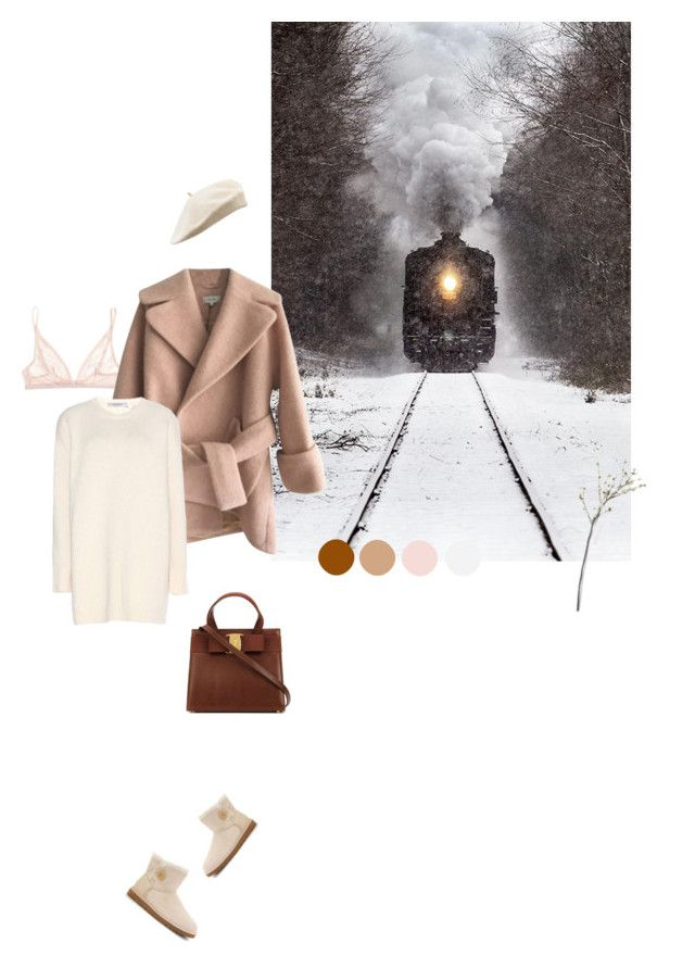 """""""viaggio d'inverno"""" by d-ile ❤ liked on Polyvore featuring Calvin Klein Underwear, Carven, Valentino, Crate and Barrel, UGG Australia, women's clothing, women's fashion, women, female and woman"""