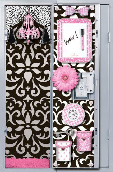 Locker Designs Ideas cute locker accessories for girls locker ideaslocker designsdiy Locker Decorations 8