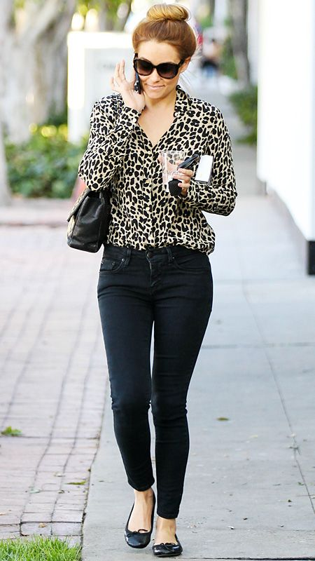 Lauren Conrad's Chic Street Style - 2012 from #InStyle