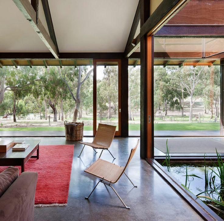 Award Winning Interior Designers Yarra River Estate
