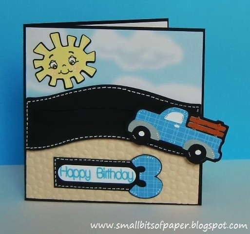 Small Bits of Paper: On the Go with a Penny Slider Card
