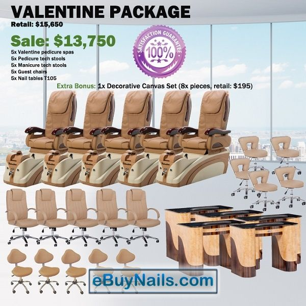 Valentine Spa Pedicure Chair Package – Free shipping - $12990 ,  https://www.ebuynails.com/shop/valentine-spa-pedicure-chair-package-free-shipping/ #pedicurespa#pedicurechair#pedispa#pedichair#spachair#ghespa#chairspa#spapedicurechair#chairpedicure#massagespa#massagepedicure#ghematxa#ghelamchan#bonlamchan#ghenail#nail#manicure#pedicure#spasalon#nailsalon#spanail#nailspa#massagechair