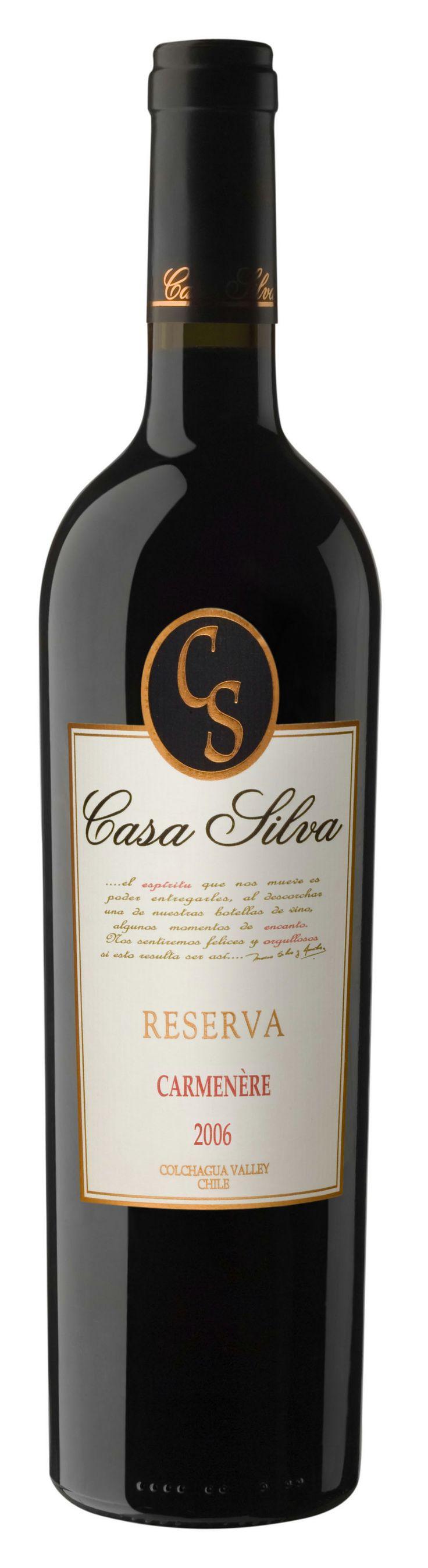 Chilean wine - Casa Silva Reserva - Carmenere HRV has a different vintage...still delicious #wine #Chicago #winebar