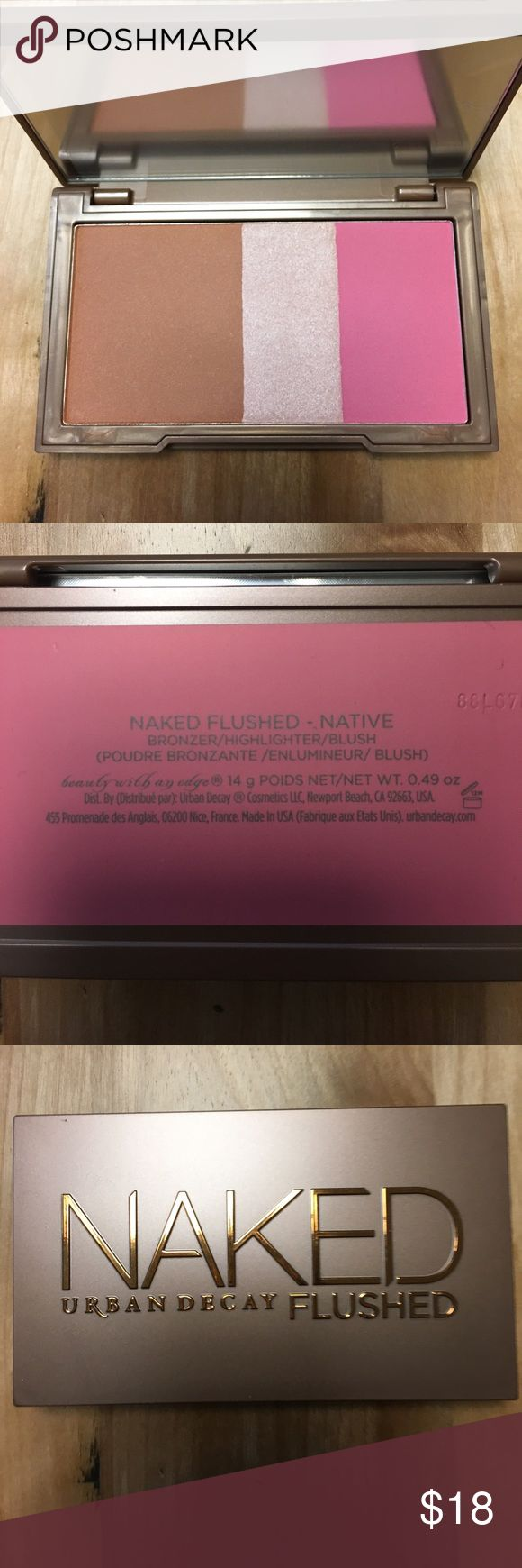 Naked Urban Decay Flushed - Native - Brand New Naked Urban Decay Flushed - Native - Brand New - no box Urban Decay Makeup