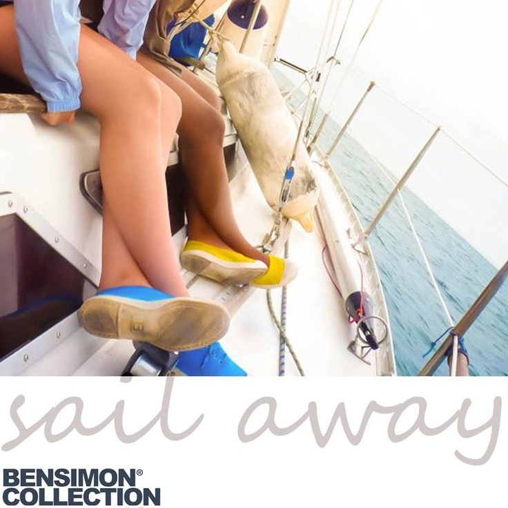 'Sail' away this weekend with a pair of Bensimon Greece!