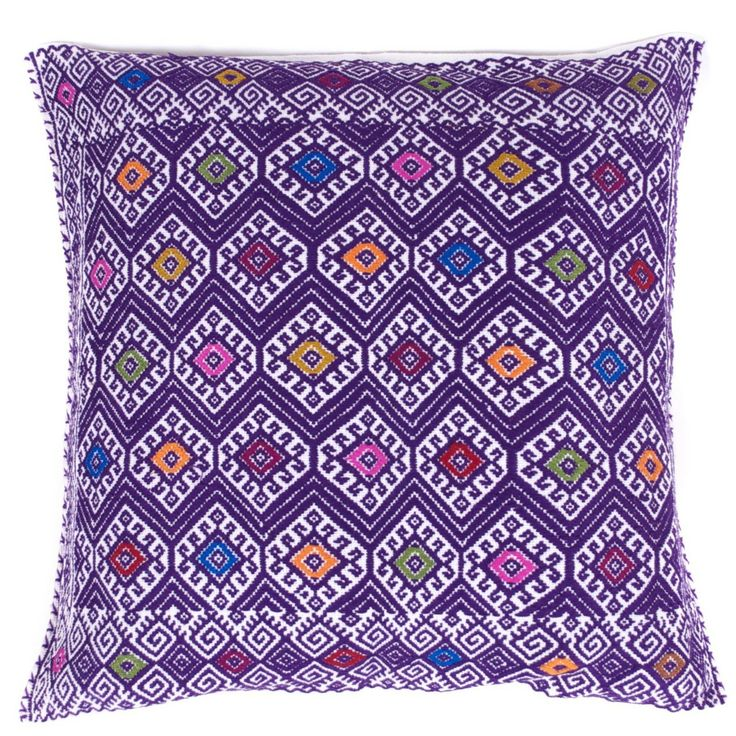 27 best images about pillows on pinterest Mexican embroidered bedding