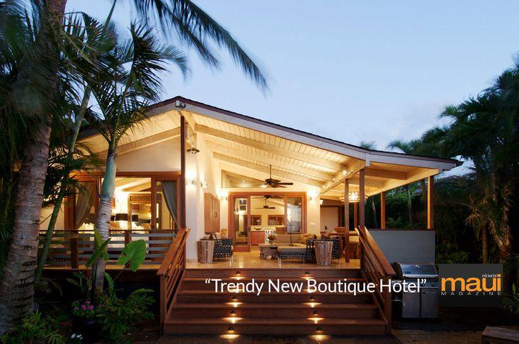 The Paia Inn, a Hip Boutique Beach Hotel on Maui's North Shore, HawaiiThe Paia Inn