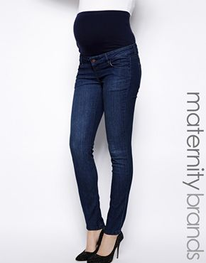 Mamalicious Slim Leg Jean THE best maternity jeans!!