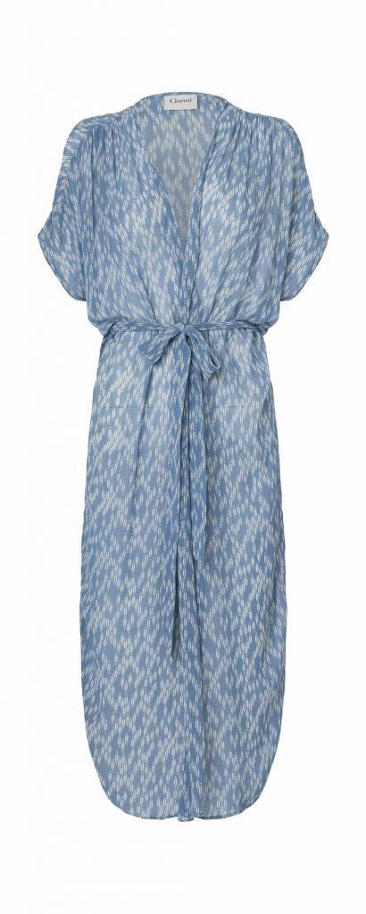 5b7ab073 KIMONO DRESS MESDAMES GEORGETTE Ganni | Ganni in 2019 | Kimono dress ...