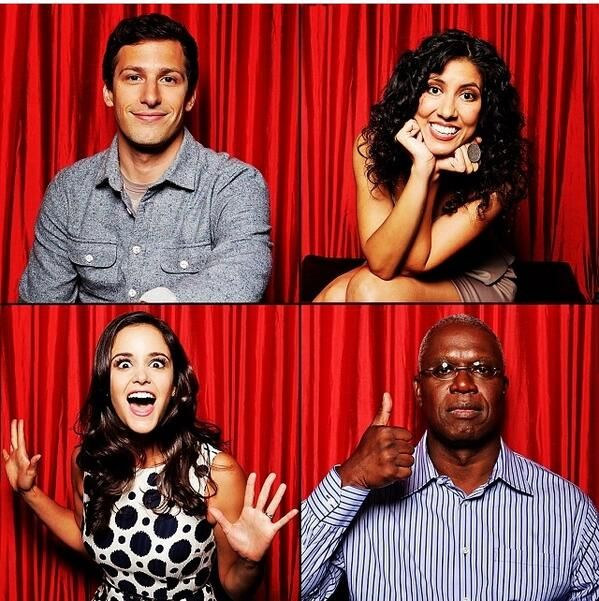 Brooklyn Nine-Nine. Love this cast