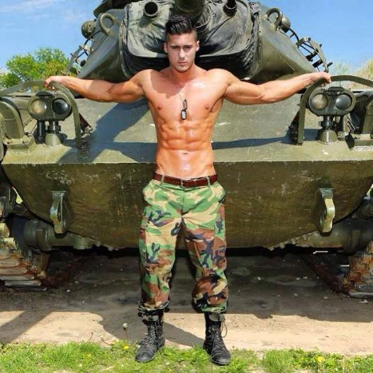 from Alec gay military me