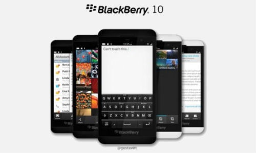 Research in Motion (RIM) has not yet made the newest Blackberry OS 10 official. Meanwhile, several pictures showing the first BB10 devices from the company have been doing the rounds online giving enough and more excitement for Blackberry enthusiasts.